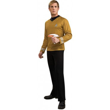 Mens Star Trek Deluxe  Captain Kirk Costume