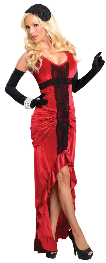 Womens Jazz Singer Costume