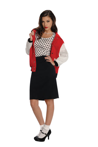 Womens 50s Rebel Chick Costume