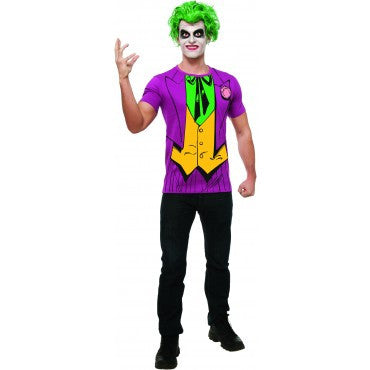 Mens Batman The Joker Costume Top