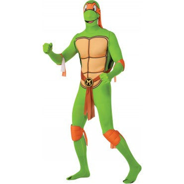 Mens Ninja Turtles Michelangelo Skin Suit