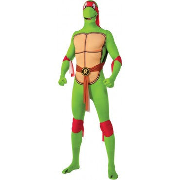 Mens Ninja Turtles Raphael Skin Suit