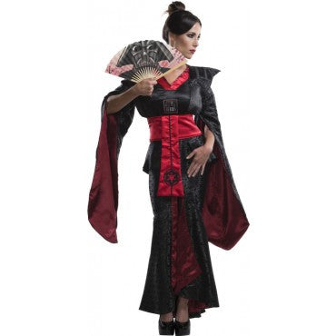 Womens Star Wars Kimono Fuedal Darth Vader Theatre Costume