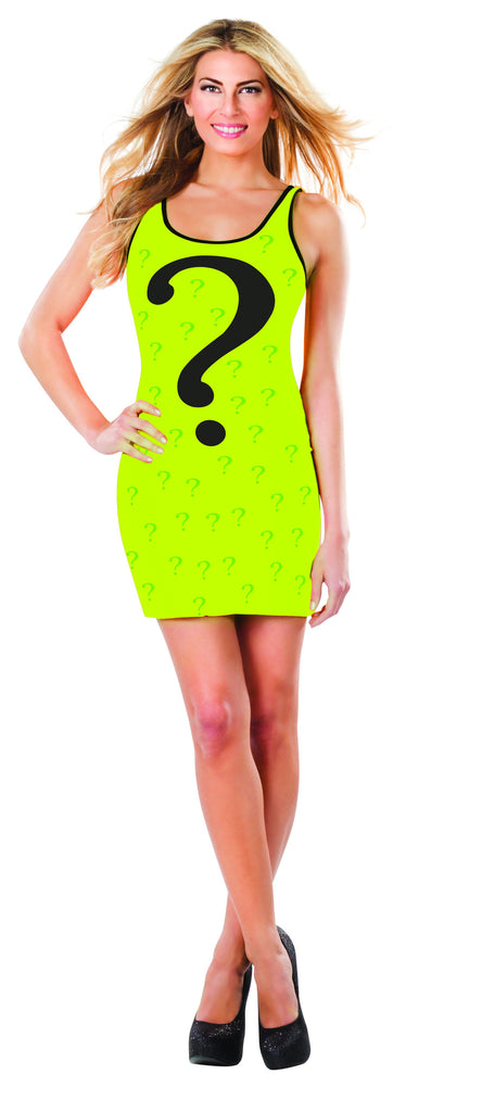Womens Batman The Riddler Tank Dress