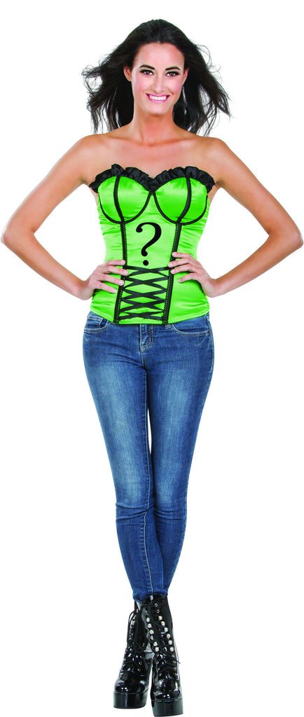 Womens Batman The Riddler Corset
