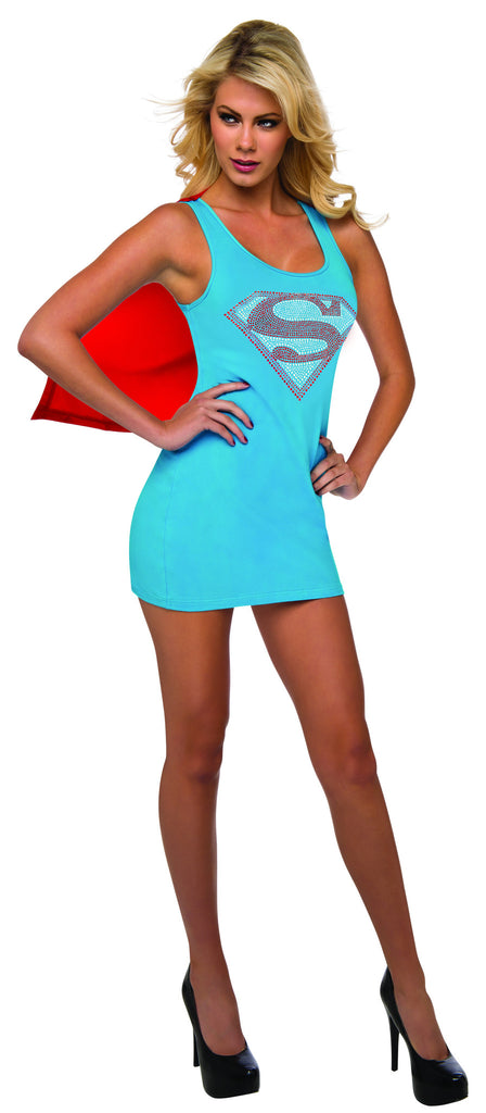 Womens Supergirl Tank Dress