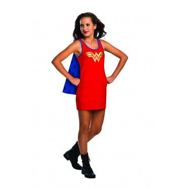 Teens Wonder Woman Tank Dress