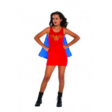 Teens  Wonder Woman Tank Dress with Rhinestones