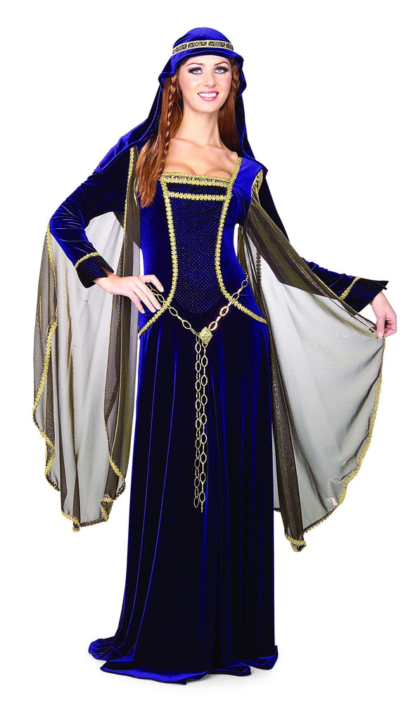 Womens Renaissance Queen Costume