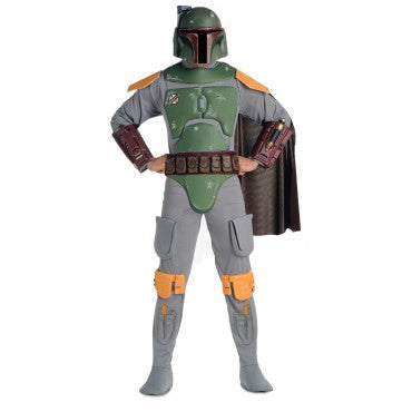 Mens Star Wars Deluxe Boba Fett Costume
