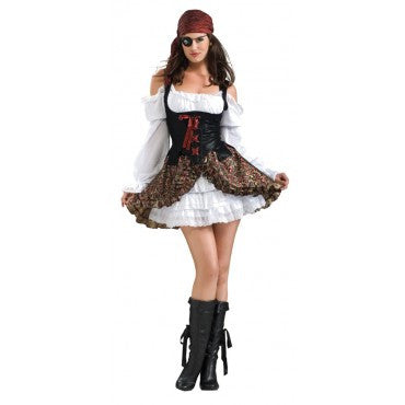 Womens Buccaneer Babe Costume