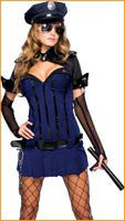 Womens Night Watch Police Costume