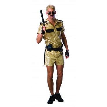 Mens Reno 911 Deluxe Lt. Dangle Costume