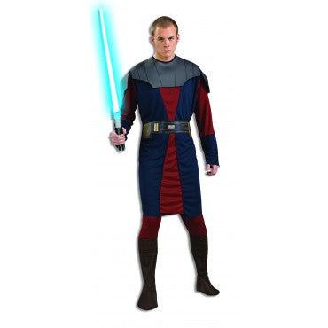 Mens Star Wars Clone Wars Anakin Skywalker Costume
