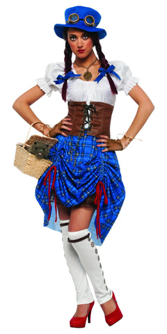 Womens Wizard of Oz Steampunk Dorothy Costume