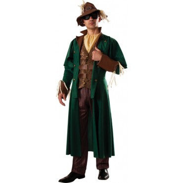 Mens Wizard of Oz Steampunk Scarecrow Costume