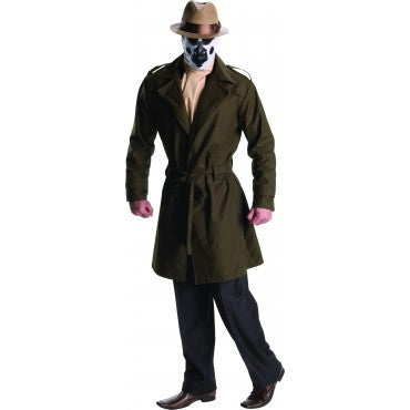 Mens Watchmen Rorschach Costume