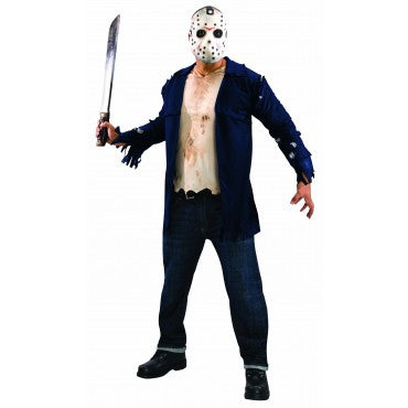 Mens Friday the 13th Deluxe Jason Costume