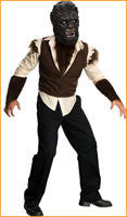 Mens Wolfman Costume
