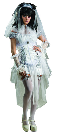 Womens Gothic Zombie Mistress Costume