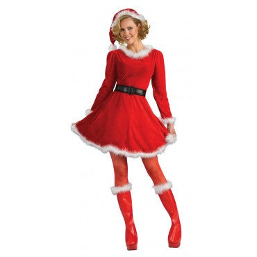 Womens Mrs. Santa Claus Costume