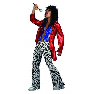Mens Heavy Metal Rock Star Costume