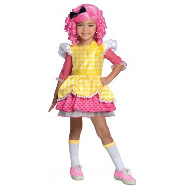 Girls Lalaloopsy Deluxe Crumbs Sugar Cookie Costume