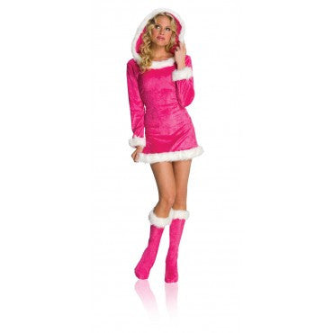 Womens Sexy Pink Helper Costume