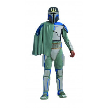 Mens Star Wars Deluxe Pre Vizsla Costume