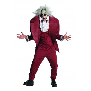Mens Shrunken Head Beetlejuice Costume