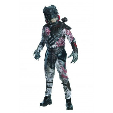Mens Black Predator Costume