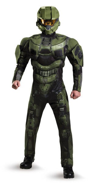 Mens Halo Deluxe Master Chief Costume