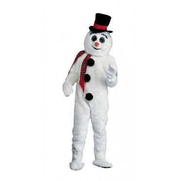 Adults Snowman Mascot/Parade Costume