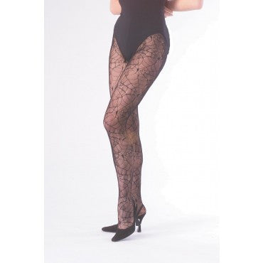 Spider Web Fishnet Tights