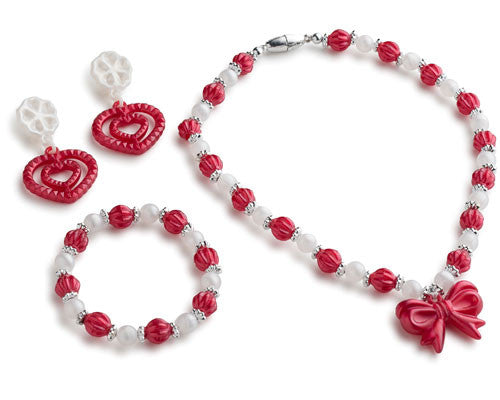 Red Princess Jewelry Set