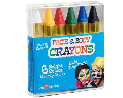 6 Color Face Paint Crayons