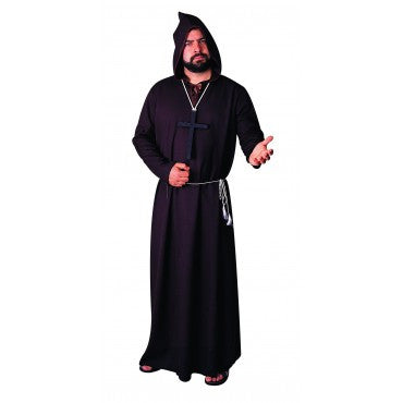 Mens Monk or Ghoul Costume