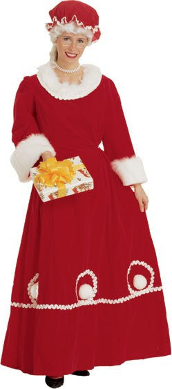 Womens Mrs. Santa Costume