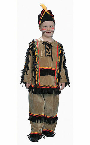 Boys Deluxe Indian Costume