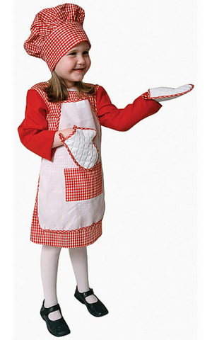 Kids/Toddlers Chef Costume