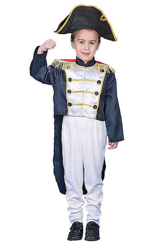 Kids/Toddler Colonial General Costume