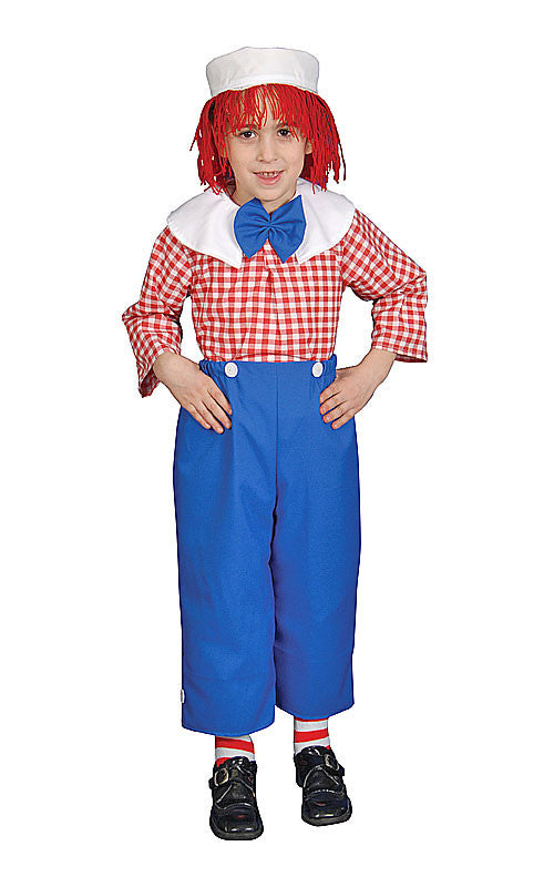 Boys Deluxe Rag Doll Costume