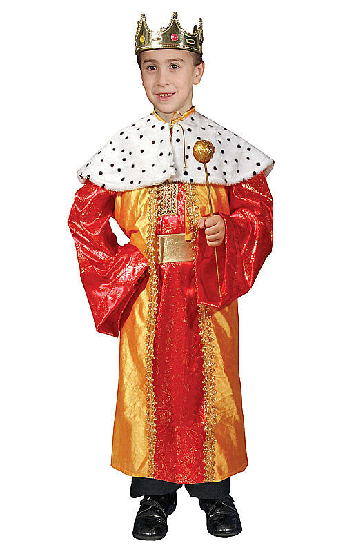 Boys Deluxe King Costume