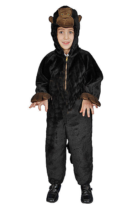 Kids/Toddlers Plush Gorilla Costume