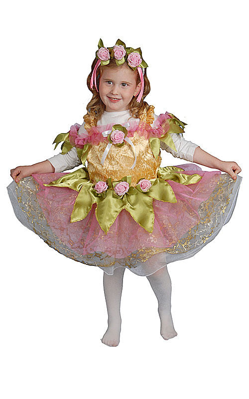 Girls Deluxe Ballerina Costume