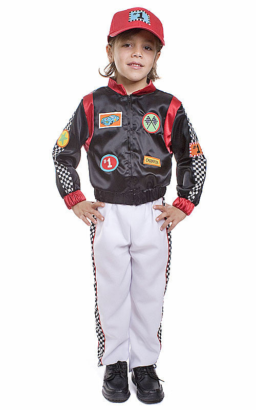 Boys Race Car Driver Costume