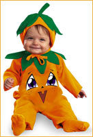 Baby Pumpkin Costumes Infants 12-18 Months
