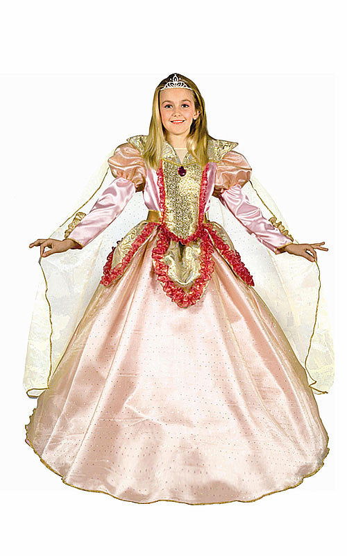 Girls Princess of the Castle Costume