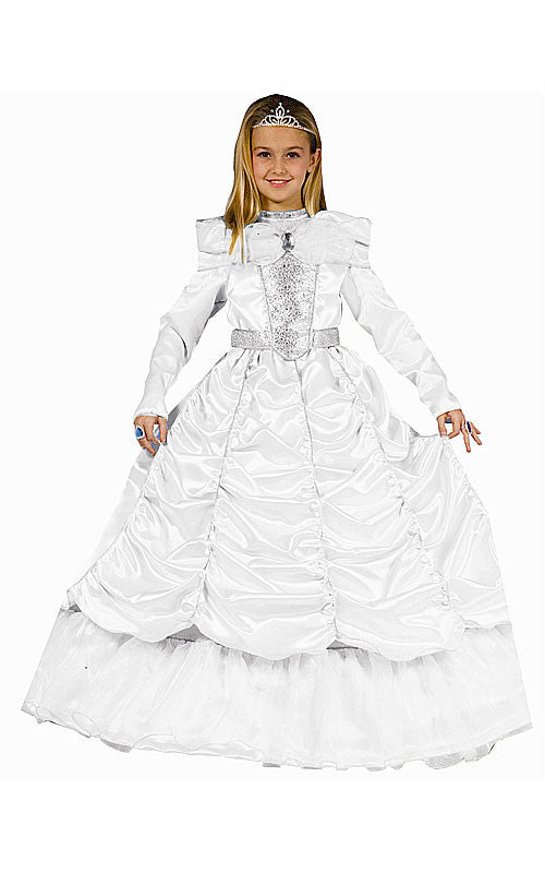 Girls Royal Princess Bride Costume