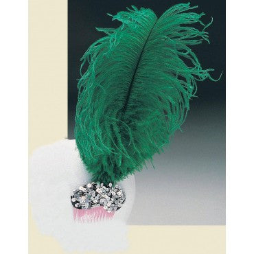 Single Feather Tiara - Various Colors